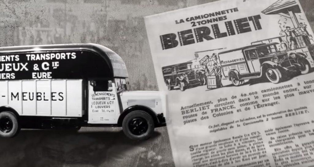 Camionnette Berliet