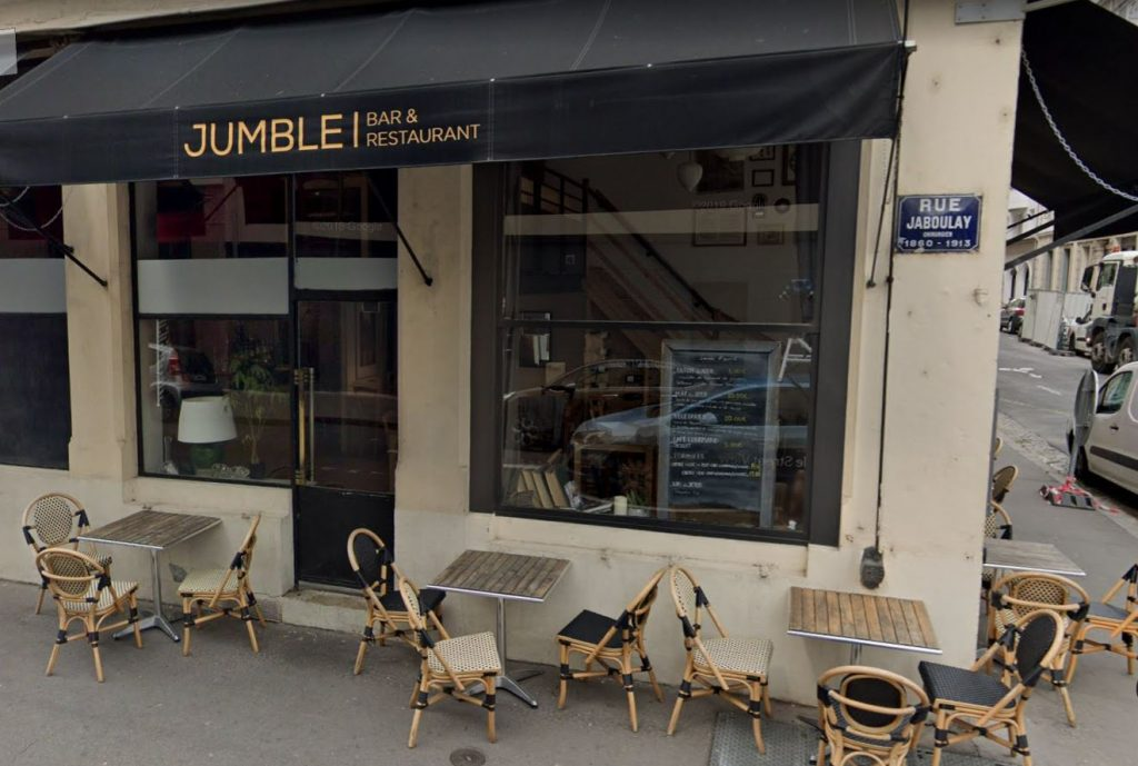 jumble restaurant lyon 7
