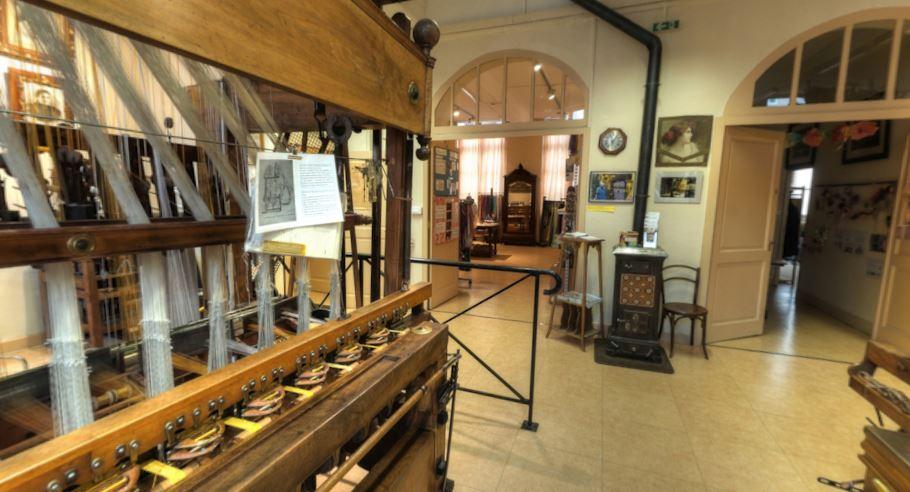 atelier de tissage à Lyon