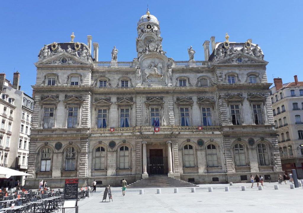 Hôtel de ville sur la place des Terreaux (mairie du 1er arrondissement)