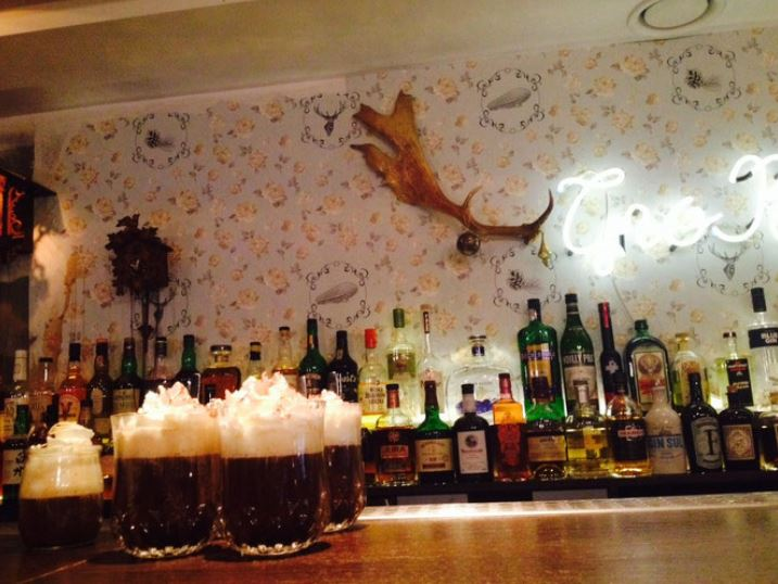 Un bar à cocktail à Lyon