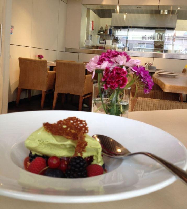 Un dessert sympa chez Imouto à Lyon