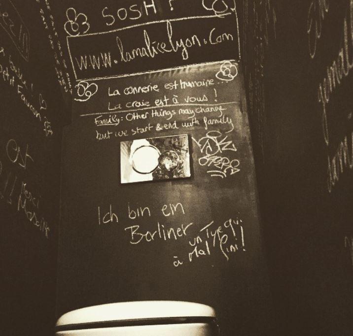 Les toilettes...lol